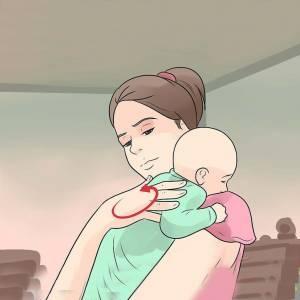 نحوه گرفتن نوزاد وبهداشت پستان